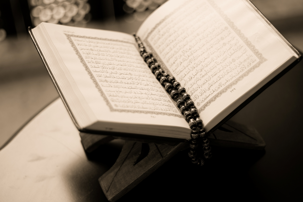 Quran and misbaha